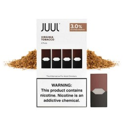 Juul - Virginia Tobacco (4'lü 50mg)