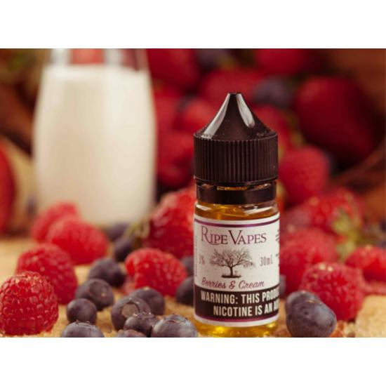 Ripe Vapes - Berries and Cream 30ml